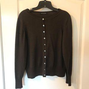Brown Merino Wool Sweater